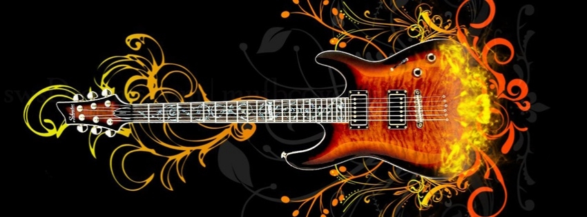 Guitar Music Timeline Cover