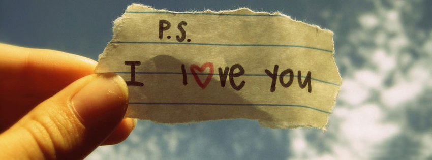 PS I love You Timeline cover - Facebook timeline covers maker