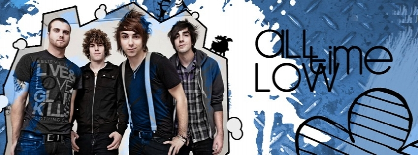 All Time low timeline-cover - Facebook timeline covers maker