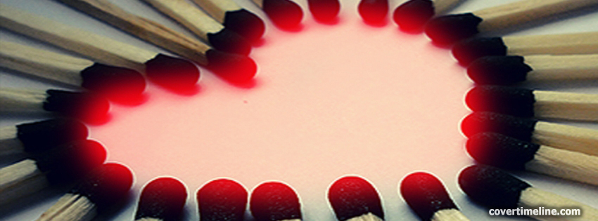 Heart Timeline Cover - Facebook timeline covers maker