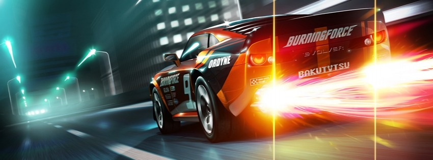 Hot-car-timeline-cover - Facebook timeline covers maker