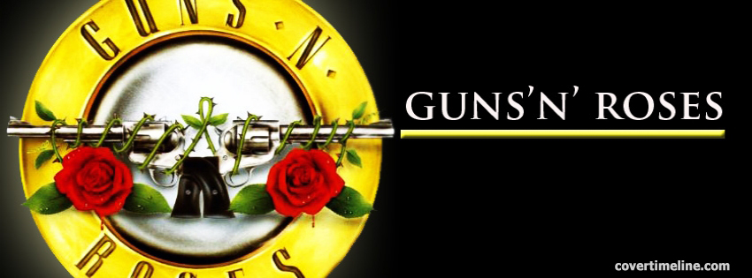 guns-n-roses-timeline cover - Facebook timeline covers maker