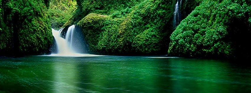 Waterfall timeline cover photo - Facebook timeline covers maker