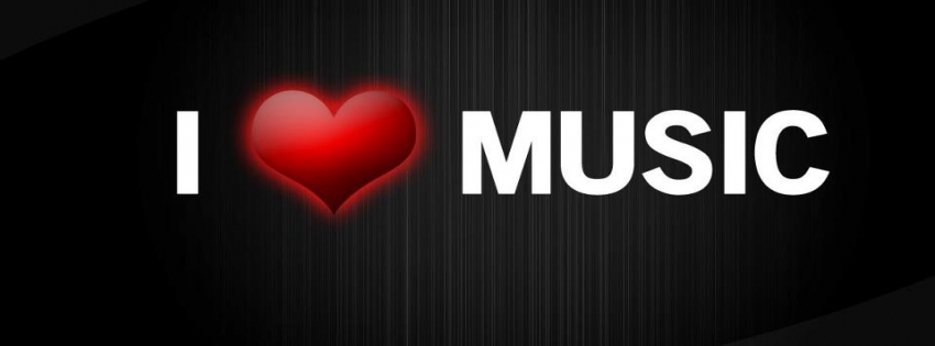 Love Music Timeline Cover - Facebook timeline covers maker