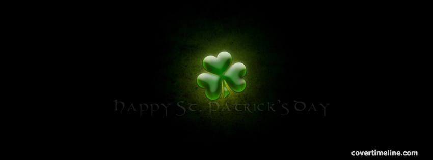 Happy St Patricks Day Cover Timeline - Facebook timeline covers maker