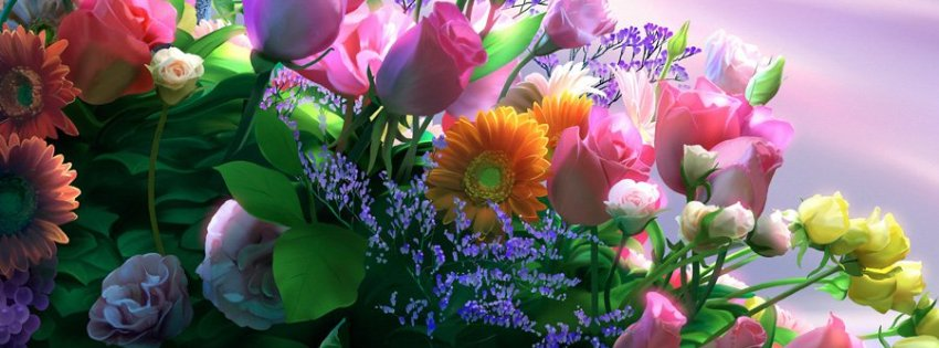 Kagaya Flowers - Facebook timeline covers maker