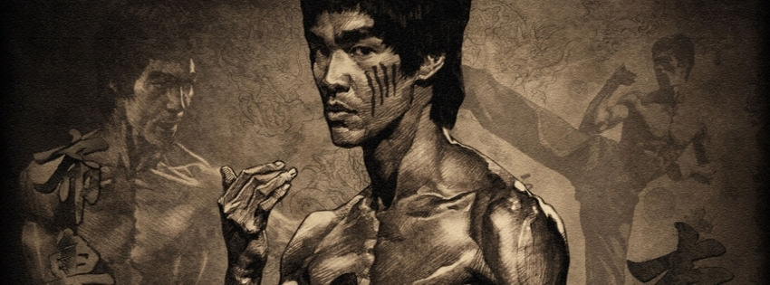 Bruce Lee Timeline Cover - Facebook timeline covers maker