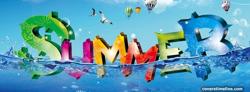 Summertime Timeline cover - Facebook timeline covers maker