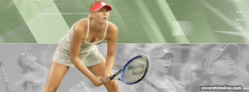 Maria Sharapova Timeline cover - Facebook timeline covers maker