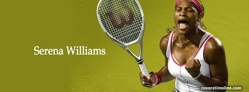 Serena Williams Timeline cover - Facebook timeline covers maker