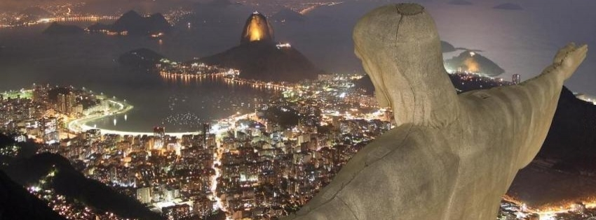 Statue of Jesus Christ in Rio de Janeiro - Facebook timeline covers maker