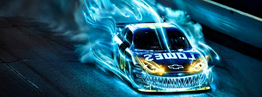Chevy Racing Car Timeline Cover - Facebook timeline covers maker