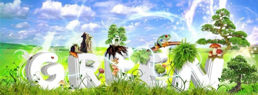 Be Green Timeline cover - Facebook timeline covers maker