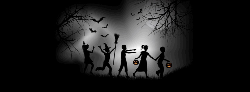 Halloween Trick or Treat timeline cover  - Facebook timeline covers maker