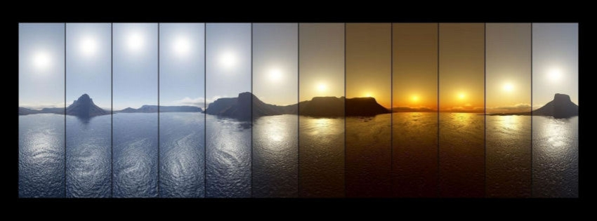 Midnight Sun Timeline cover - Facebook timeline covers maker