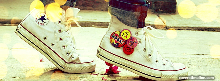 Walk in My shoes Timeline cover - Facebook timeline covers maker