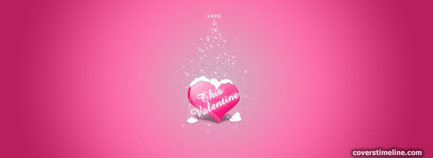 Happy Valentines Day Timeline Cover  - Facebook timeline covers maker